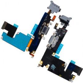 DOCK FLEX CONECTOR CARGA E MICROFONE FONE IPHONE 6 PLUS PRETO