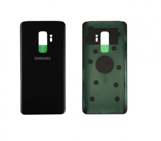 TAMPA TRASEIRA SAMSUNG S9+ S9 PLUS G965 PRETA